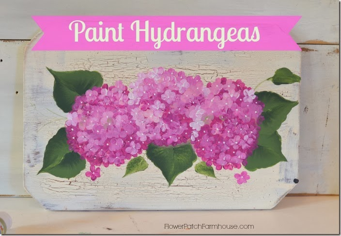 Paint Hydrangeas logo
