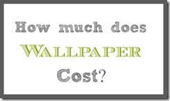 how much does wallpaper cost