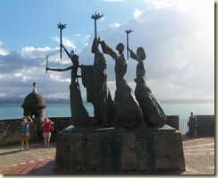 Staue San Juan Dedication (Small)