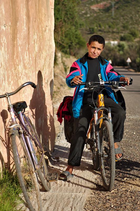 Schimb de biciclete.