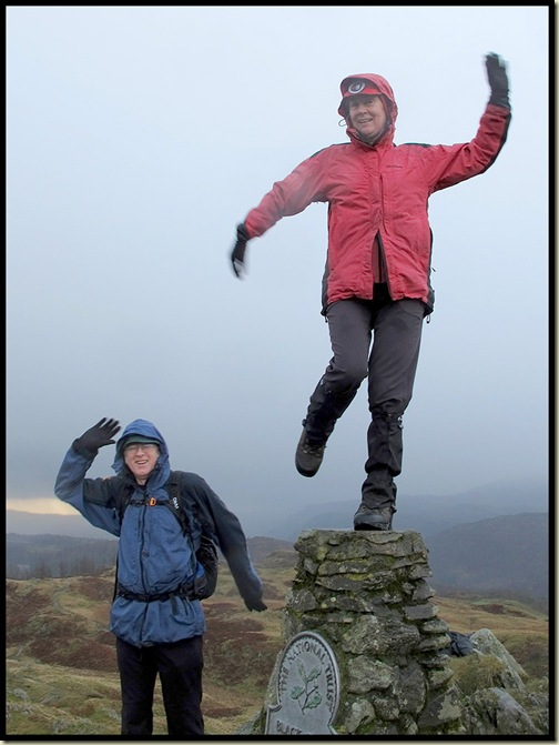 Dancing on Black Crag
