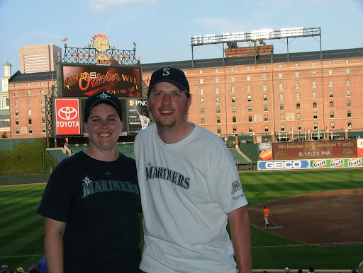 August 17, 2010, Mariners vs Orioles at Baltimore&#39;s Oriole Park at Camden Yards
