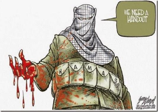Hamas - We need handout toon