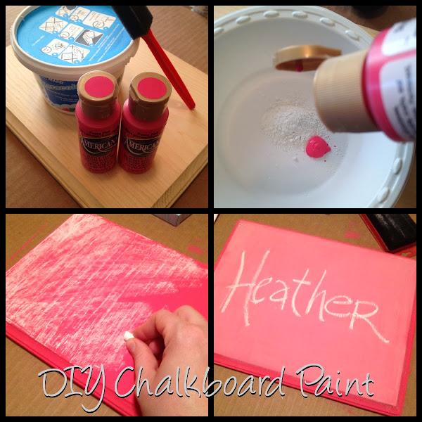 Chalkboard Diy Chalkboard Paint