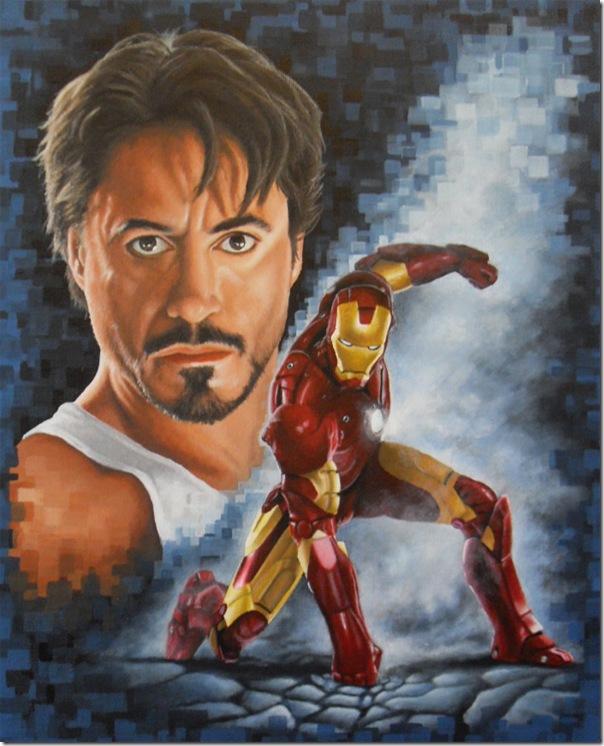 Iron man ,Anthony Edward ,Tony Stark (32)