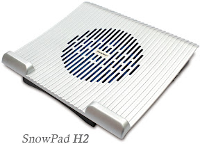 GlacialTech Launches Exciting & Elegant N1 / H2 SnowPad Series Laptop Cooling Pads