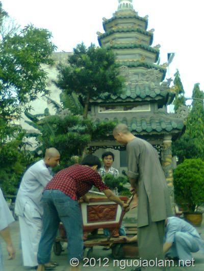 tang lễ hòa thượng Thích Minh Châu - 44