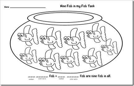 Nine Fish in the Fish Tank