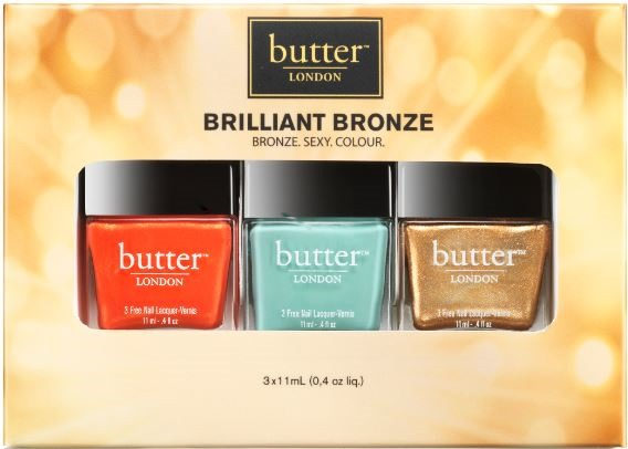 butter LONDON Brilliant Bronze Lacquer Set ($39)