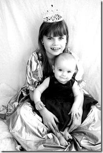 Lisa nästan 7 månader o svensk prinsessan e född! 044