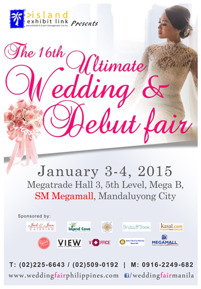 The 16th Ultimate Wedding and Debut Fair 2015