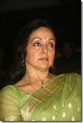 Hema Malini in green saree