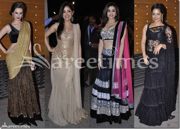 Sarees_Filmfare_Awards_2013(2)