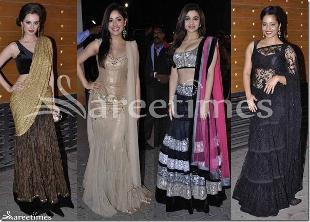 Sarees_Filmfare_Awards_2013(2)