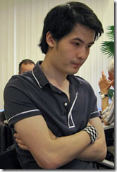 GM David Howell of England (picture courtesy of Chessbase)