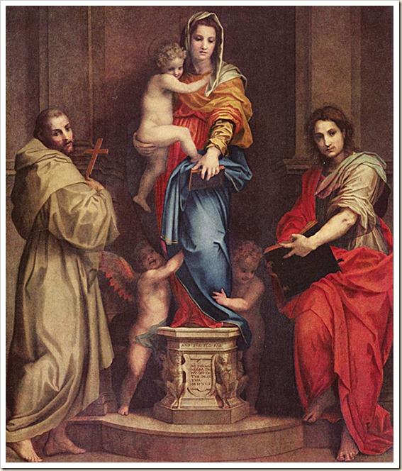 Andrea del Sarto - Madonna delle Arpie