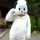 Edo Wonderland mascot in Nikko, Totigi (Tochigi) , Japan