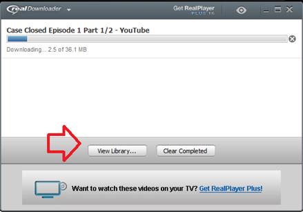 ดาวน์โหลดวีดีโอด้วย realplayer ใน youtube