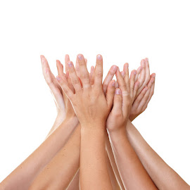helping hands by Alyce Barton - People Body Parts (  )