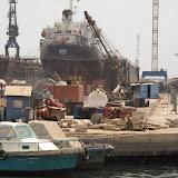 Départ du port de Dakar