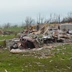 Governor Beebe tours Mayflower and Vilonia tornado damage