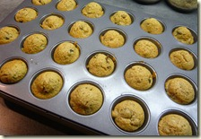 christmas pudding mini muffins3