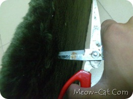 how to building cat tree - Fabric cut and wrapped 9