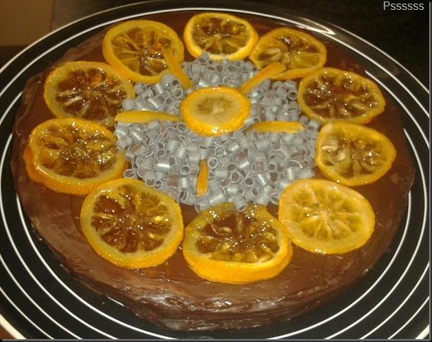 BalsamicLemonChoc Cake