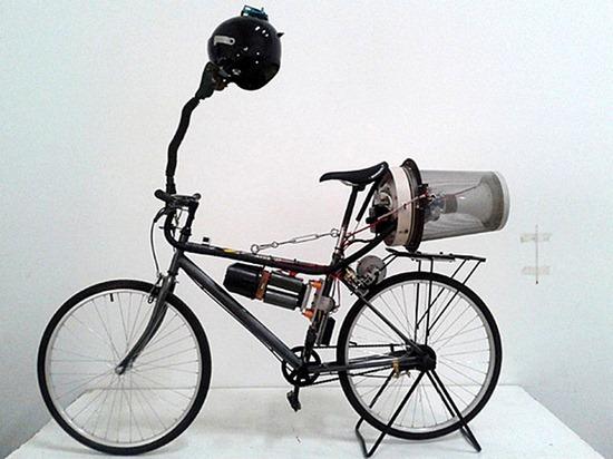 bicicleta anti poluição