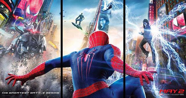 A csodálatos pókember 2 posztere jó minőségben-640