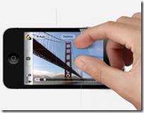 iOS 5 zoomare con le dita