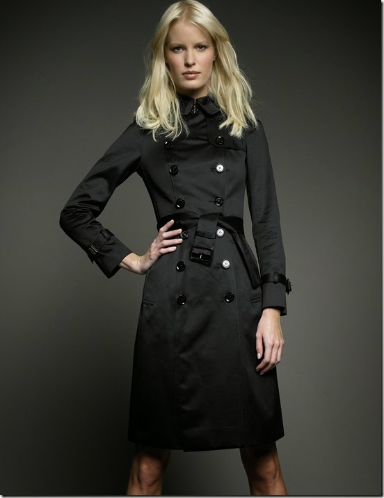 Burberry-Prorsum-Sateen-Trench-Coat-Black
