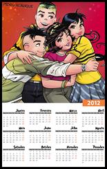 Calendario 2012 Unidos