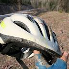 Шлем спас висок