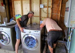 1408132 Aug 10 Putting The Washer In Place