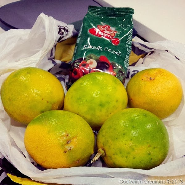 Cyprus thin skin lemons