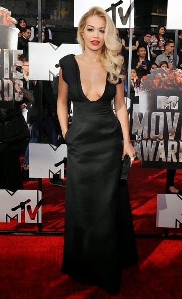 Rita Ora 2014 MTV Movie Awards Arrivals