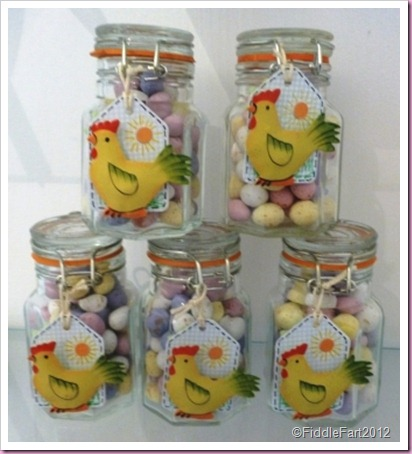 Mini Easter Favour Jars