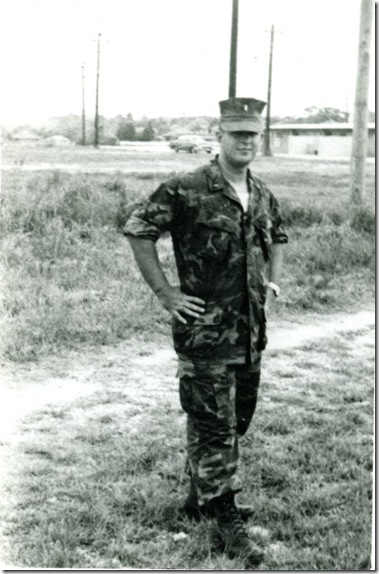 Russ at Camp Hansen Okinawa for Embarkation Sch Mar 1969