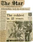 The Coldest in 33 years