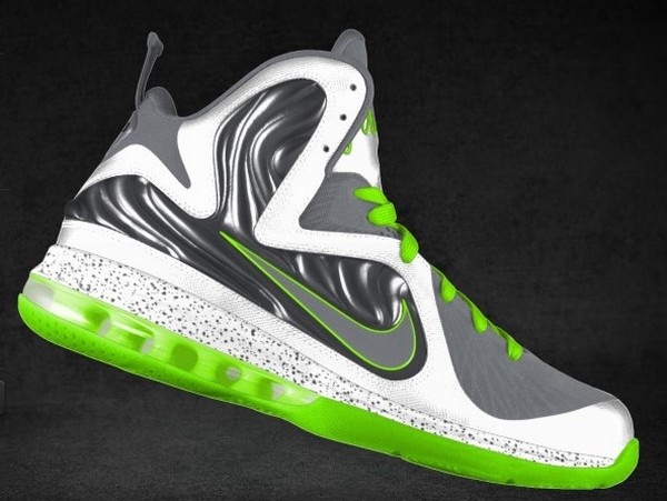 Preview of New Nike LeBron 9 iD Options 8220Penny 2 Flow8221