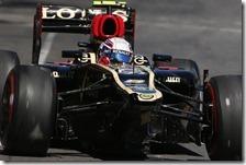 Grosjean nel gran premio di Monaco 2013
