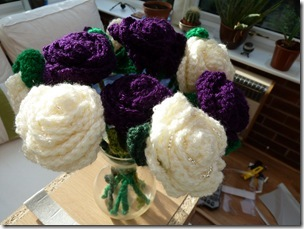 Crochet Flower Bouquets (5)