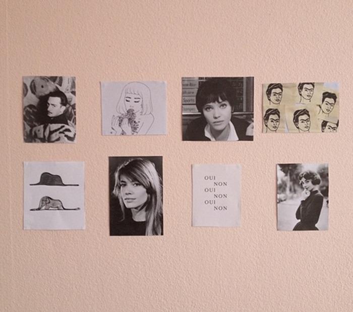 Fotos na parede
