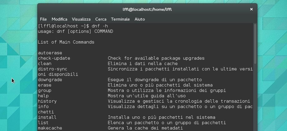 DNF in Fedora