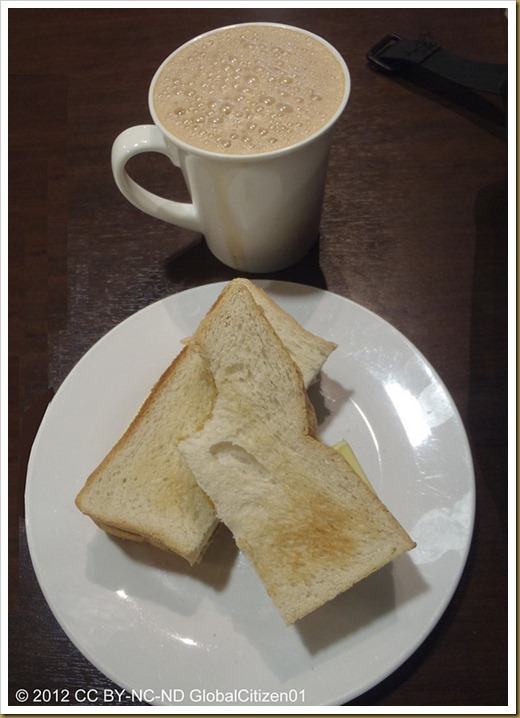 Kaya Toast and Teh Tarik ( 2012 CC BY-NC-ND GlobalCitizen01 )