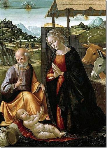 Adoração do Menino_Domenico Ghirlandaio