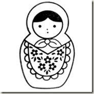 Cute matryoshka st russian doll apron no3 97013 4