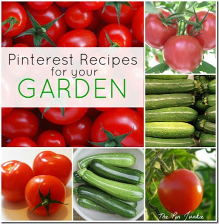 recipes for your garden