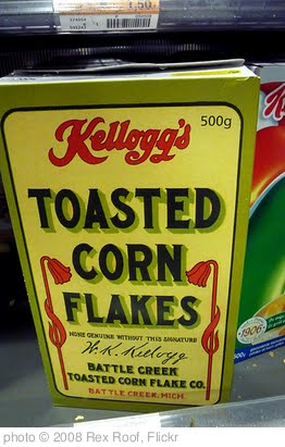 'Retro Cornflakes Box.' photo (c) 2008, Rex Roof - license: http://creativecommons.org/licenses/by/2.0/